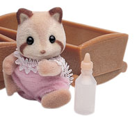Mulberry Raccoon Baby Girl