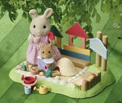 Nursery Sandpit & Figure Set