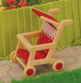 Red Baby Pushchair