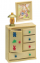 Nursery Cupboard & Lamp