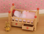 Red Baby Cot with Drawers