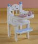 White Baby High Chair