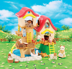 Sylvanian Family Baby Fairground House