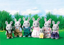 Sylvanian Families Celebration Babblebrook Rabbit Family