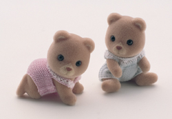 Sylvanian Family Little Bear Twins