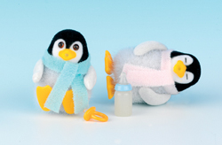 Sylvanian Family Penguin Twin Babies